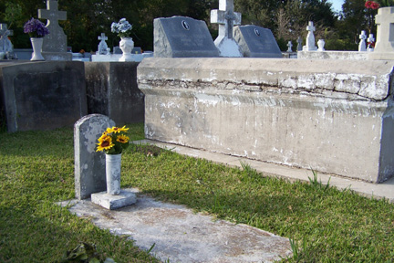 Tomb of Marie Landry
